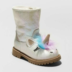 NWT Cat and Jack Unicorn Boots